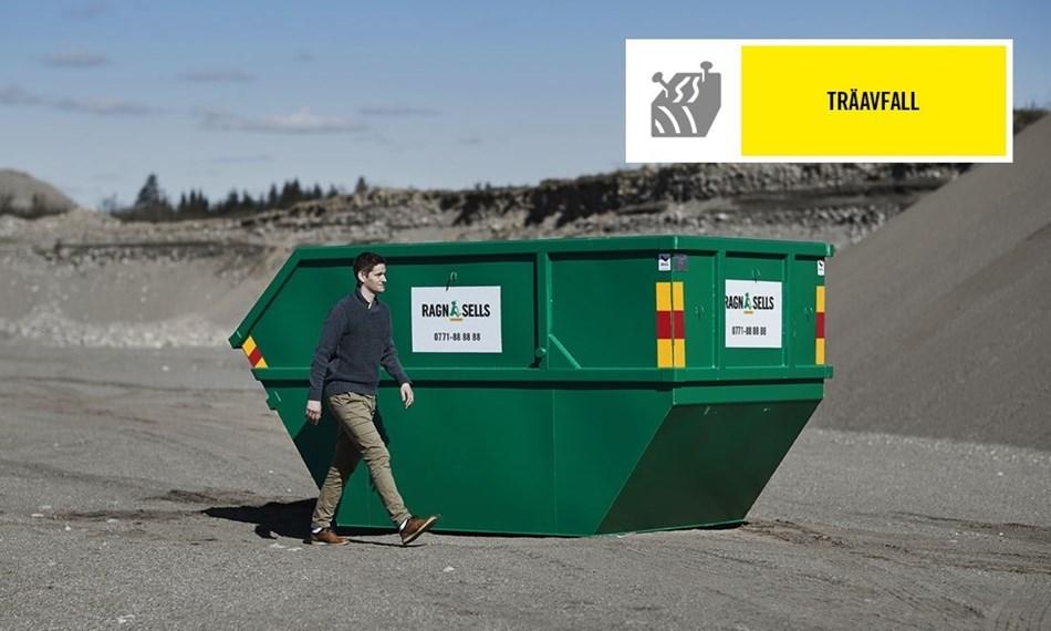 Container Fastpris Träavfall