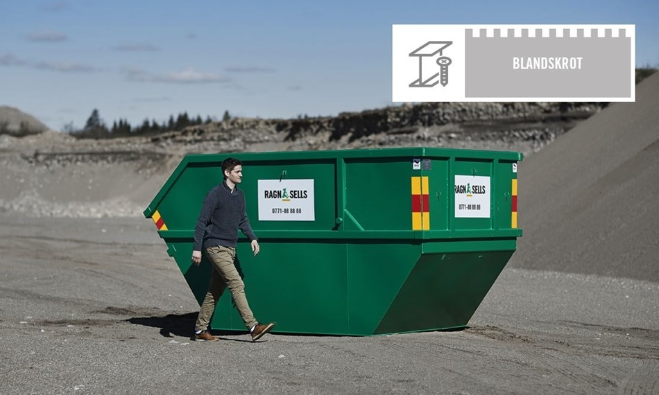 Container Fastpris Blandskrot