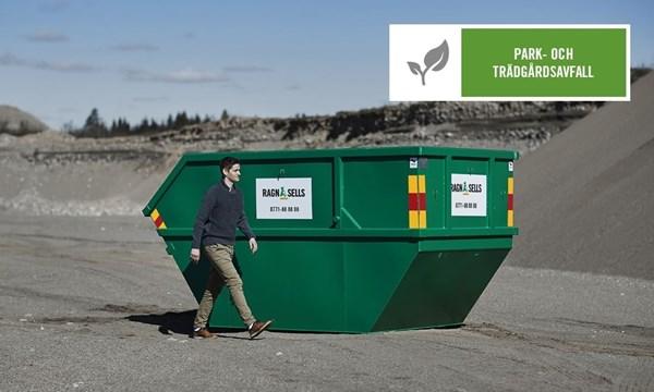 Container Fastpris Park och Trädgårdsavfall